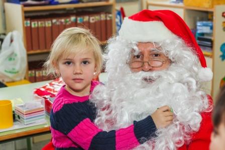 Los RRMM y Papá Noel en INF 5A 16