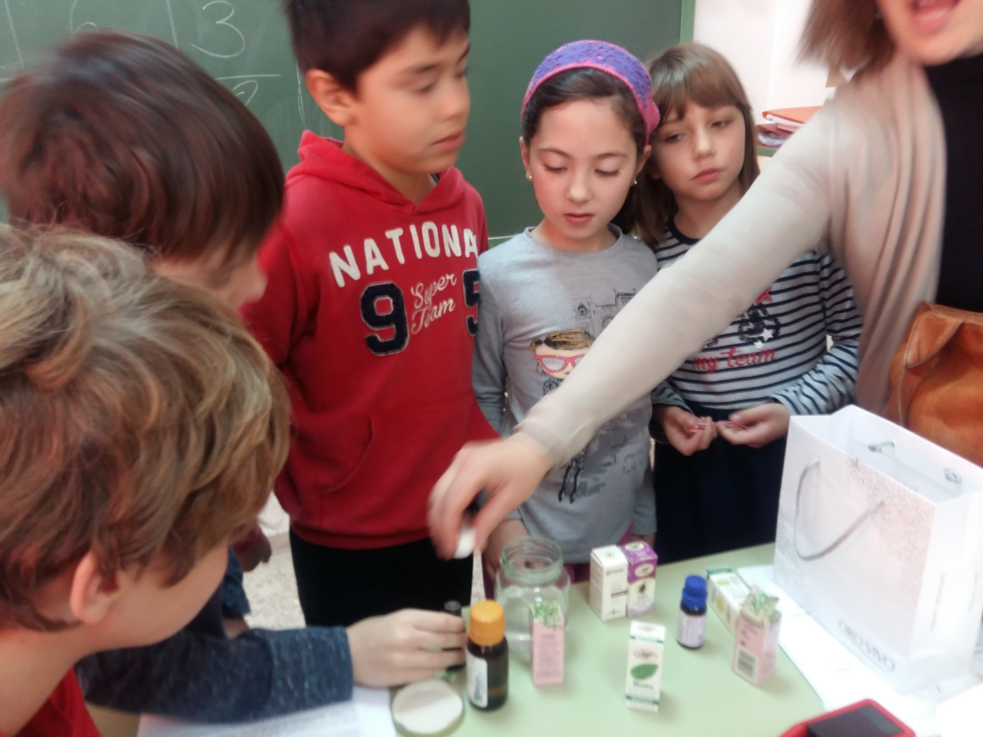 Science experiments. Parfum. 19