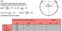 Trigonometría: 39.Reducción 5 - Ejemplo concreto
