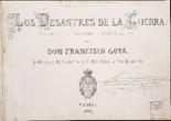 Los desastres de la guerra, de Goya (1863)