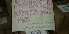 DÍA DE ACCIÓN DE GRACIAS. GRAN RECOGIDA DE ALIMENTOS