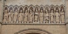 Friso de la Portada de las Cadenas, Catedral de Ciudad Rodrigo,