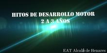 HITOS DESARROLLO MOTOR 2-3 AÑOS