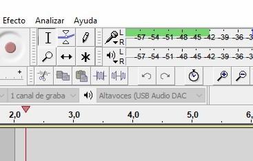 Volumen audacity