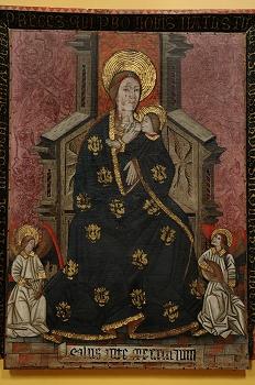 Museo diocesano de Huesca. Virgen de la leche