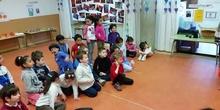 Semana Cultural. Experimentos infantil