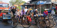 Transporte en bicicletas, Jakarta, Indonesia