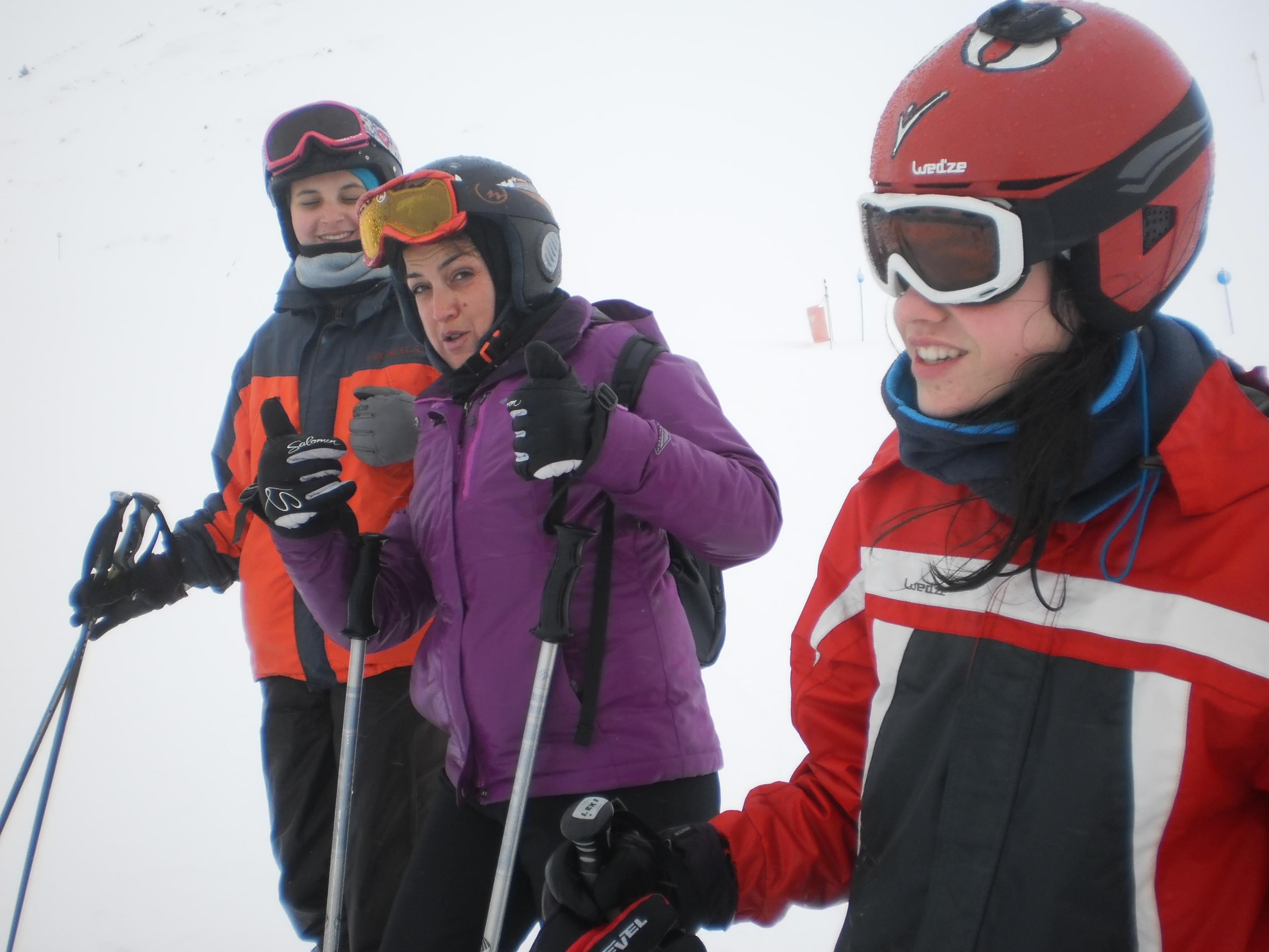 2017 excursión nieve 10