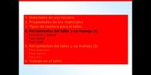 1º ESO / Tema 2 -> Punto 4 - Herramientas del taller y su manejo (1)