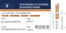 e Diciembre: Día de las personas con discapacidad funcional 20