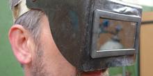 Pantalla protección soldadura oxiacetilenica