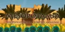 1º ESO/MESOPOTAMIA THE DEVELOPMENT OF WRITTEN LANGUAGE