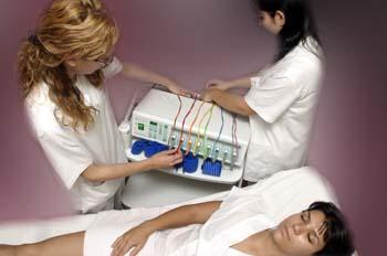 Gimnasia pasiva: preparación de consola y electrodos