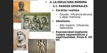 3. La escultura romana