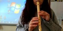 La mañana parte 2 en flauta