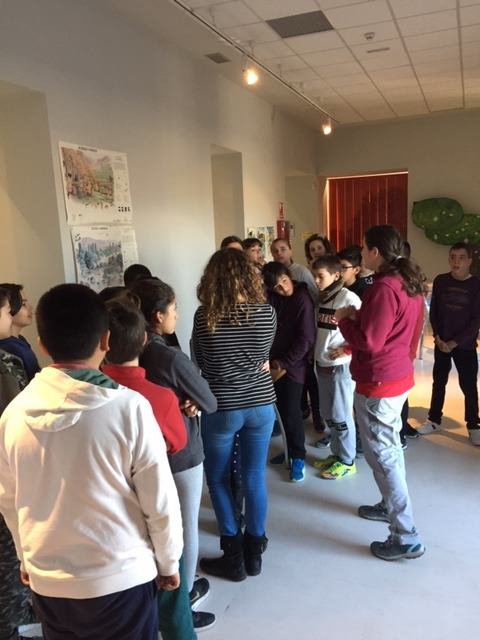 Centro de Interpretación de la Naturaleza. Montecarmelo. 6º curso.