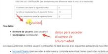Acceso a correo web Educamadrid