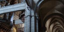 Interior de la Catedral de Tuy, Pontevedra, Galicia