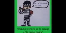 BIBLIOTRAILER: LAS AVENTURAS DE LA MANO NEGRA. (PRIMERA VERSIÓN).