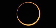 Fase central del eclipse anular 11