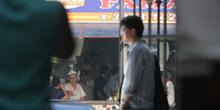 Vista del exterior del Mercado de abastos desde la puerta, Sao P