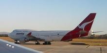 Boeing 747 de Quantas, Australia