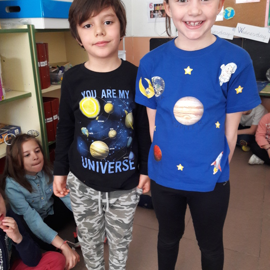 Our Solar System is at School 8