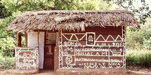 Casa pintada, Mozambique