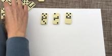Sumas con dominó