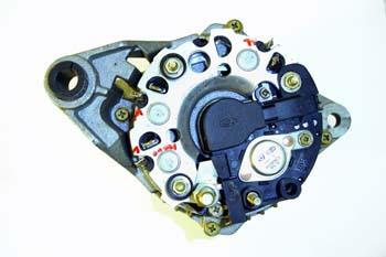 Alternador. Vista placa de diodos