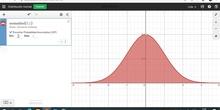 Desmos: normal y binomial
