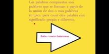 PRIMARIA - 3º - LAS PALABRAS COMPUESTAS - LENGUA - NOA Y JIMENA S.