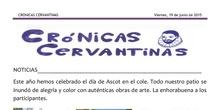 Crónicas Cervantinas - 19 de junio de 2015