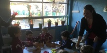 INFANTIL - 4 AÑOS B - CON LA NIEVE EN LOS TEJADOS