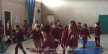 PRIMARIA - 4ºB - CLASE DE YOGA - ACTIVIDADES .mov