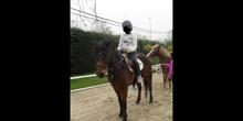 4º de Primaria montamos a caballo