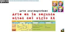 Arte en la segunda mitad del siglo XX