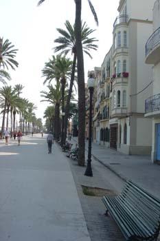Paseo marítimo, Badalona, Barcelona