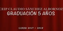 GRADUACIÓN 5 AÑOS - 2018