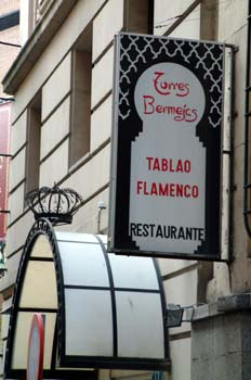 Tablao flamenco Torres Bermejas, Madrid