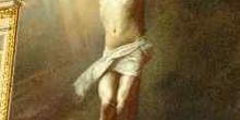 Imagen de cristo crucificado, Catedral de San Matías, Budapest,