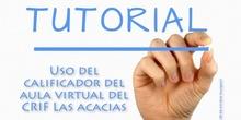 Tutorial de uso del calificador del Aula Virtual (CRIF Las Acacias)