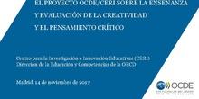 Enseñanza y evaluación de la creatividad y el pensamiento crítico
