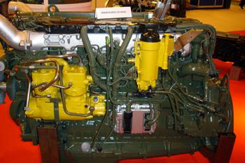 Motor con sistema de alimentación Common-rail.