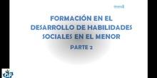Desarrollo de las habilidades sociales en el menor 2