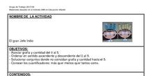 Materiales  basados en el método ABN de infantil