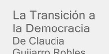 Transición a la democracia de Claudia G