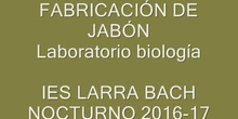 "IES LARRA BACH NOCTURNO ""JABÓN"""