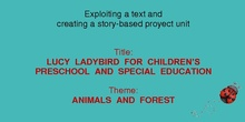 Lucy Ladybird for children's preschool and special education