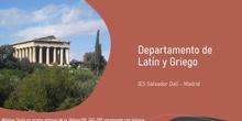 Departamento latín y griego. Jornada puertas abiertas